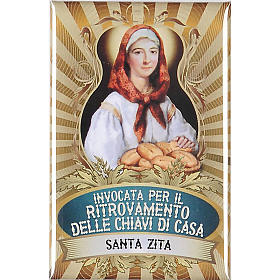 Saint Zita badge, lux s1
