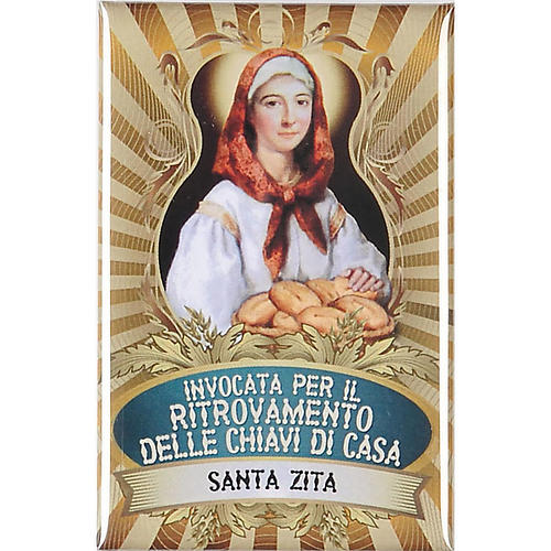 Saint Zita badge, lux 1