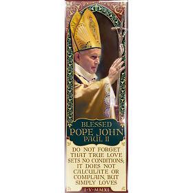 Magnete Blessed Pope John Paul II - Eng. 02 s1