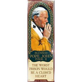 Magnet Blessed Pope John Paul II - Eng. 01 s1