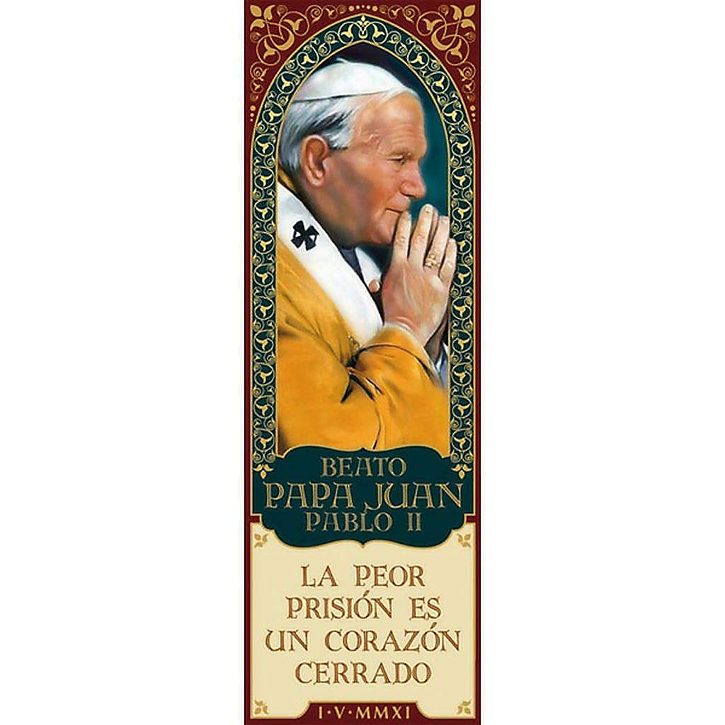 Magnes Beato Juan Pablo II- hiszpański 01 3