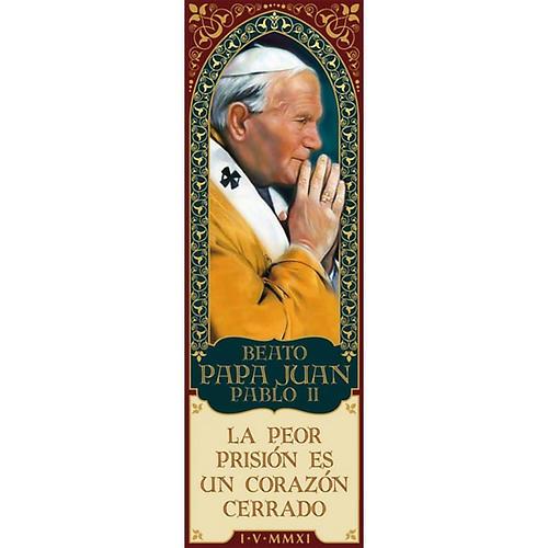 Magnes Beato Juan Pablo II- hiszpański 01 1