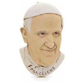 Magnet de Pape François en résine s1