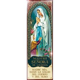Magnete Madonna Nuestra Señora de Lourdes - ESP 04 s1