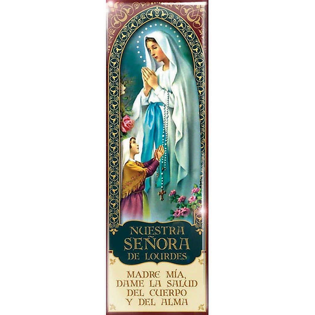 Nuestra Señora de Lourdes magnet - ESP04 3