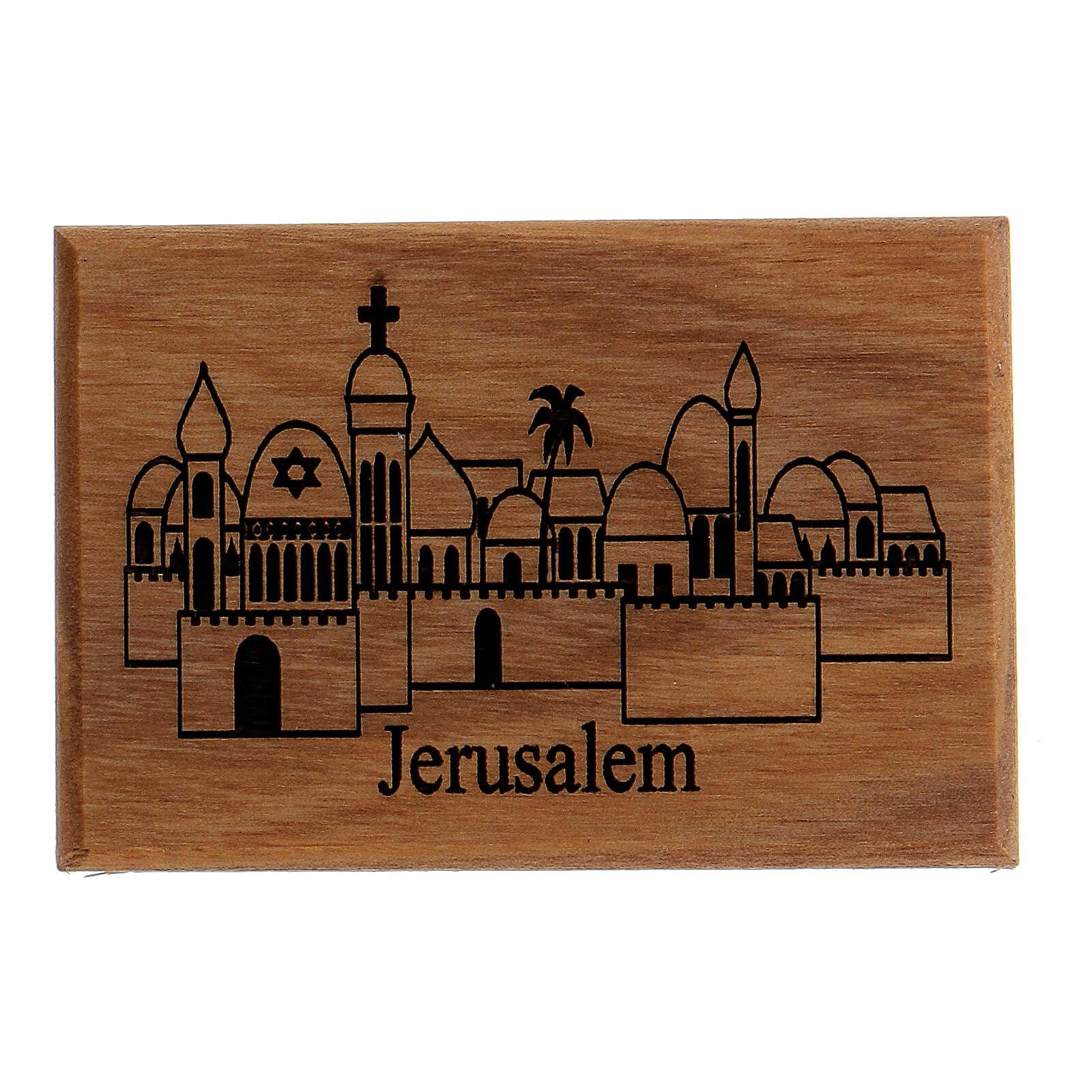 Magnete Ulivo - Jerusalem città 3