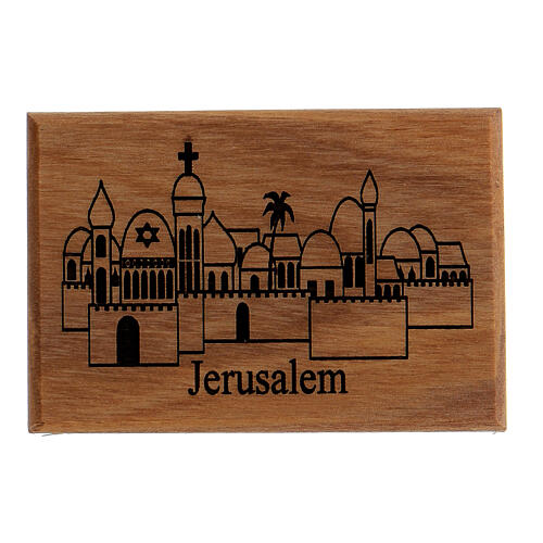 Magnete Ulivo - Jerusalem città 1