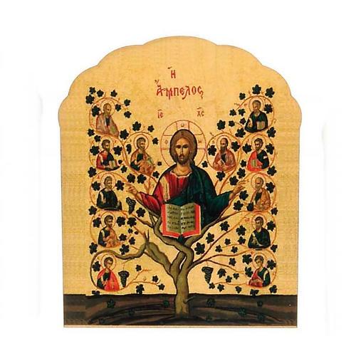 Imán de madera de árbol de la vida 1
