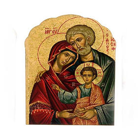 Religious Magnets: Magnet in wood, Holy Family