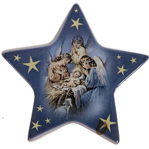 Imán estrella cerámica Nacimiento 1