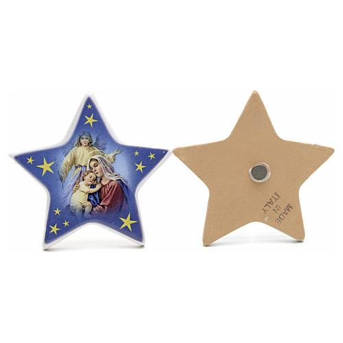 Magnet étoile Nativité céramique 3