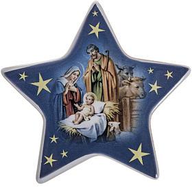Star magnet ceramic Nativity s1