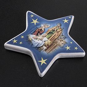 Star magnet ceramic Nativity s3