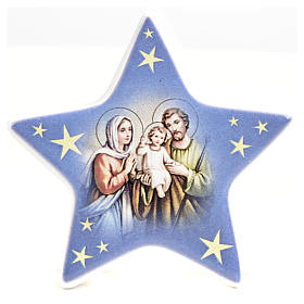 Star magnet ceramic Nativity s9