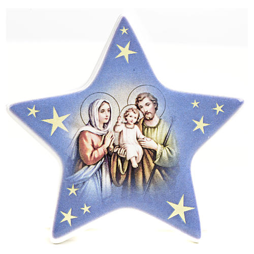 Star magnet ceramic Nativity 4