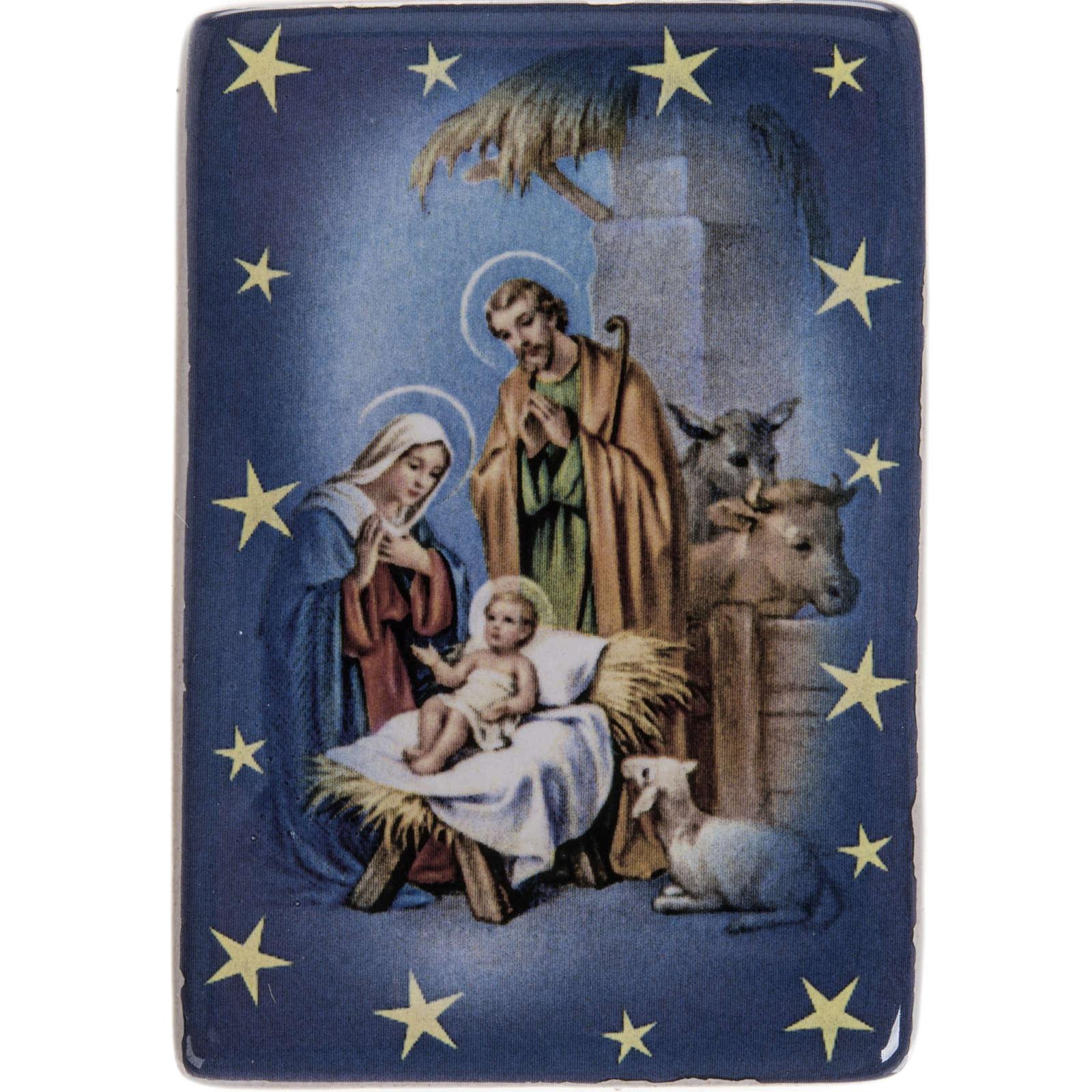Magnet Sainte Famille classique céramique 3