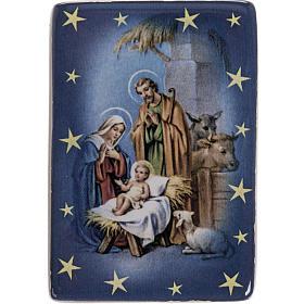 Magnet Sainte Famille classique céramique s1
