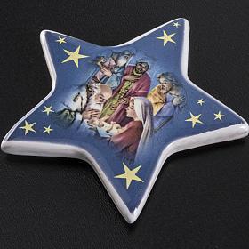 Imán cerámica Adoración de los Magos s2