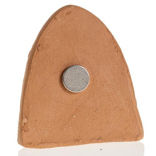 Magnete terracotta Natività 7X4.5 3