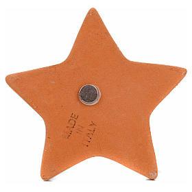 Magnete ceramica Natività Sacra Famiglia s2