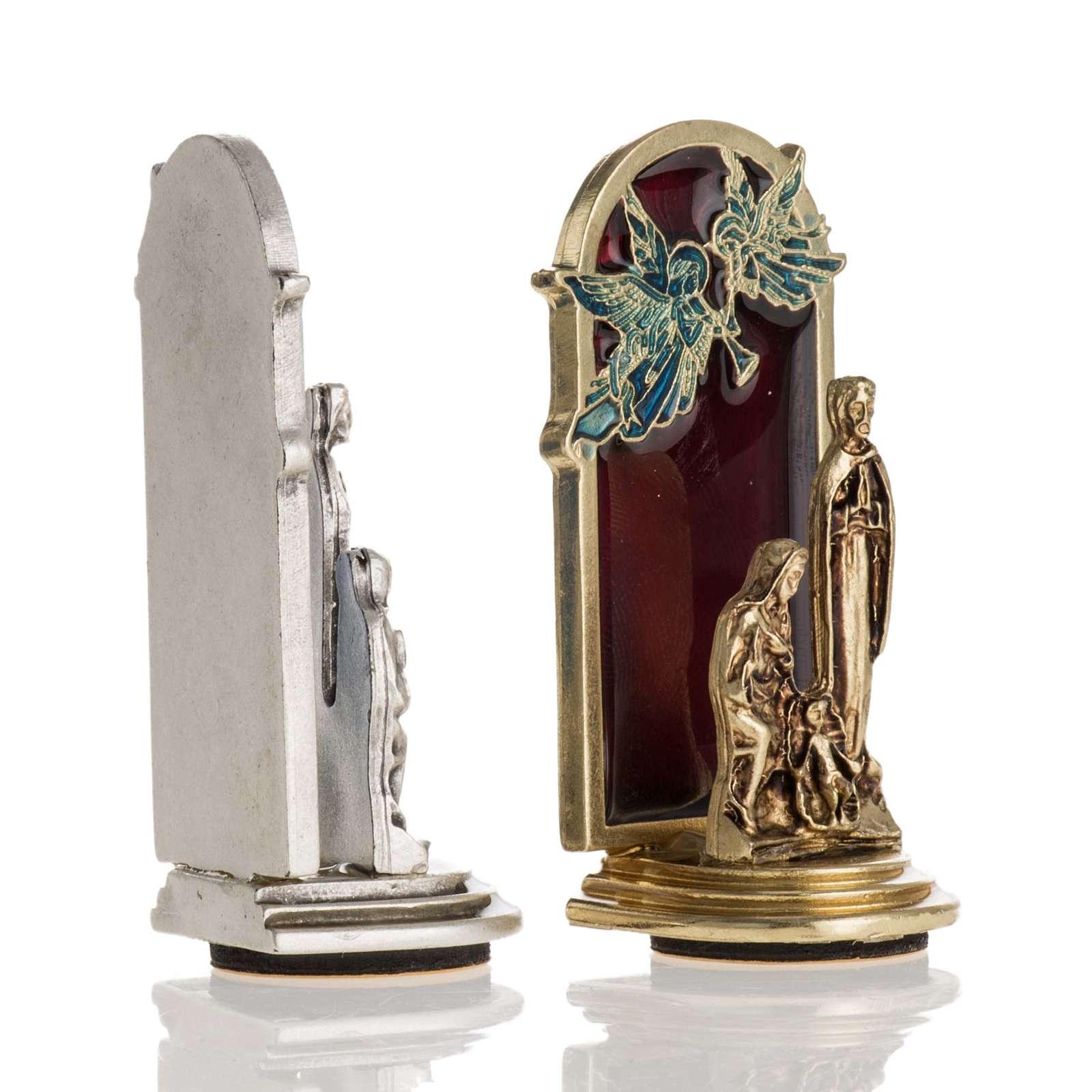 Aimant Nativité et anges 6,5x2,5cm 3