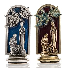 Aimant Nativité et anges 6,5x2,5cm s1