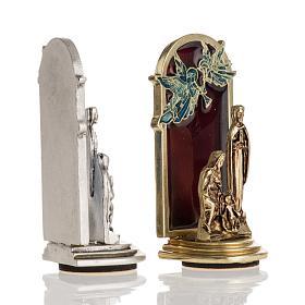 Aimant Nativité et anges 6,5x2,5cm s3