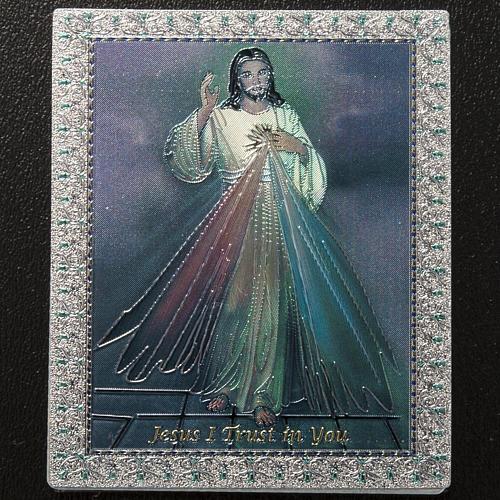 Divine Mercy magnet ENG 2