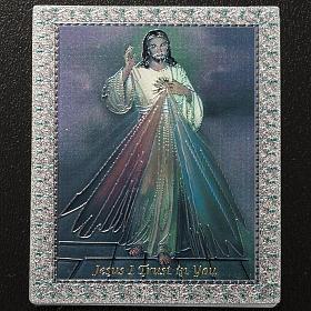 Magnet Jésus Miséricordieux anglais s2