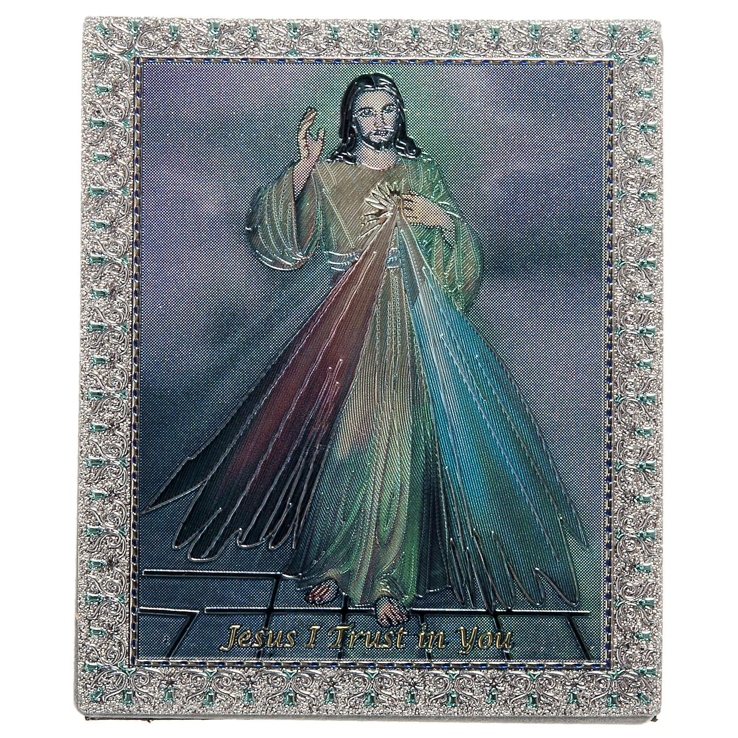 Divine Mercy magnet ENG 3