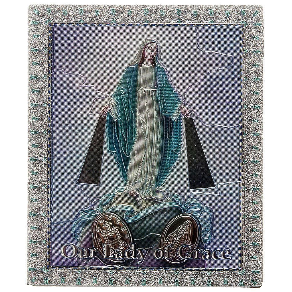 Imán Virgen Milagrosa Inglés 3