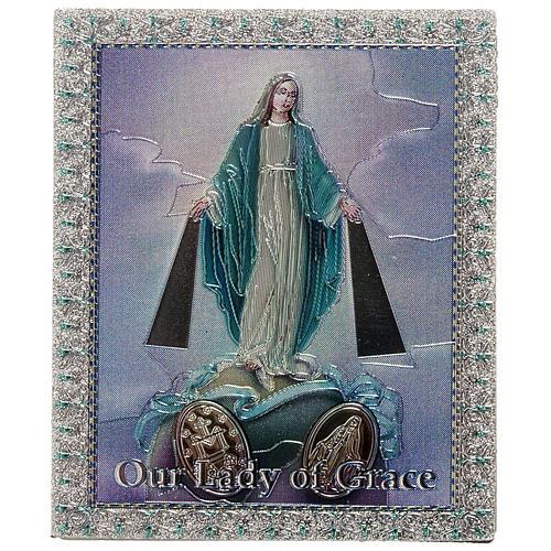 Imán Virgen Milagrosa Inglés 1