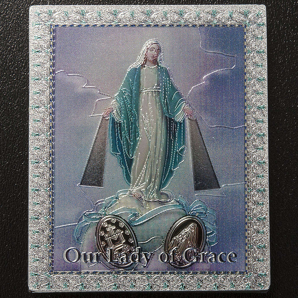 Magnet Vierge Miraculeuse anglais 3