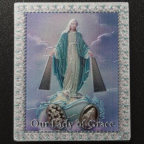 Magnet Vierge Miraculeuse anglais 2