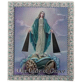 Religious Magnets: Magnet Miraculous Madonna in English