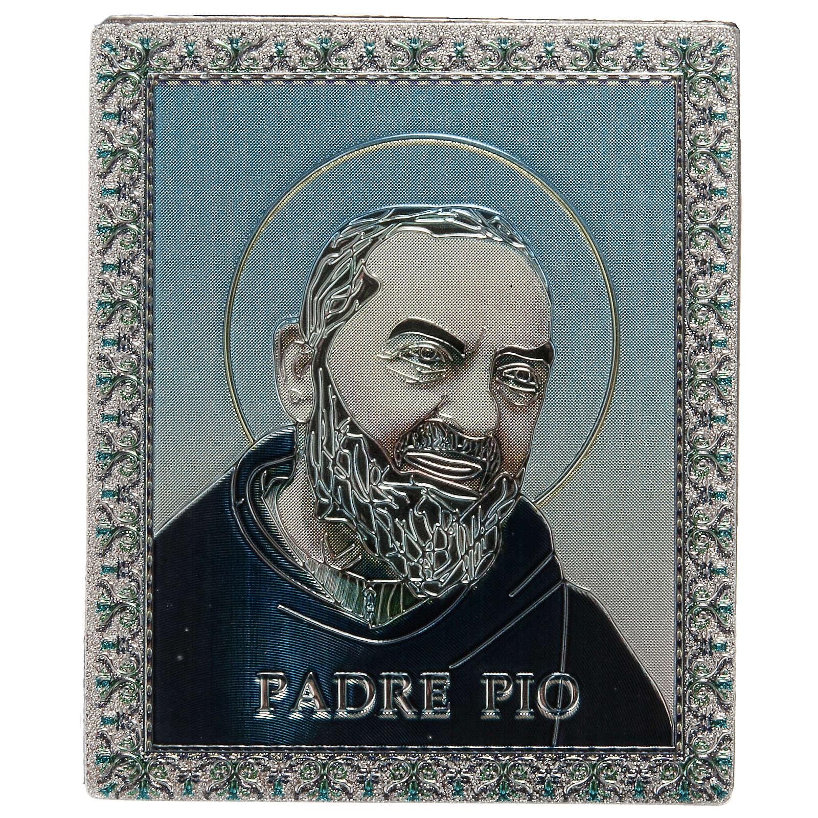 Planche magnétique Père Pio 3