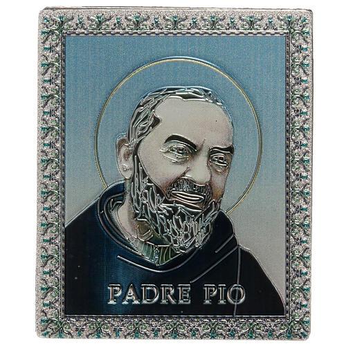 Planche magnétique Père Pio 1