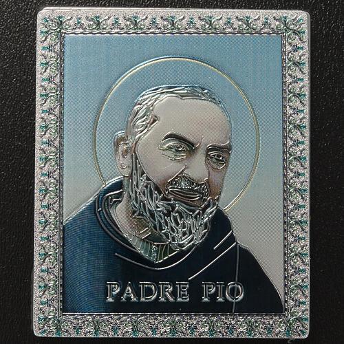 Planche magnétique Père Pio 2