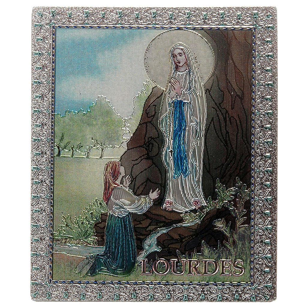 Imán Nuestra Señora de Lourdes 3