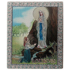 Our Lady of Lourdes magnet s1