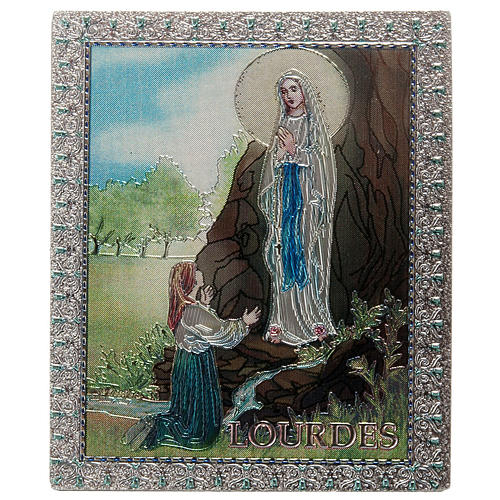 Our Lady of Lourdes magnet 1
