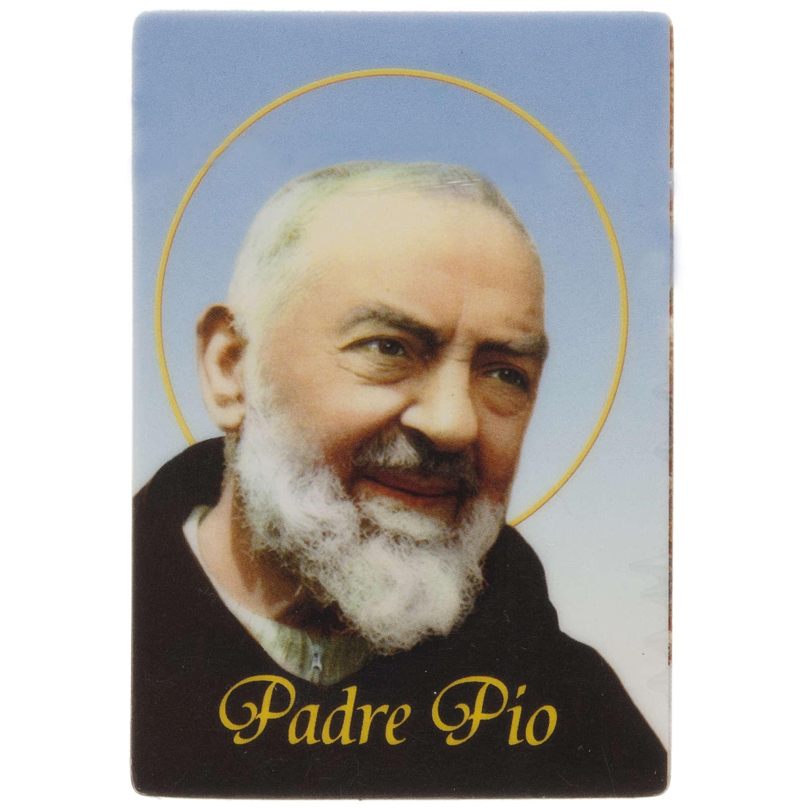 Père Pio magnet 3