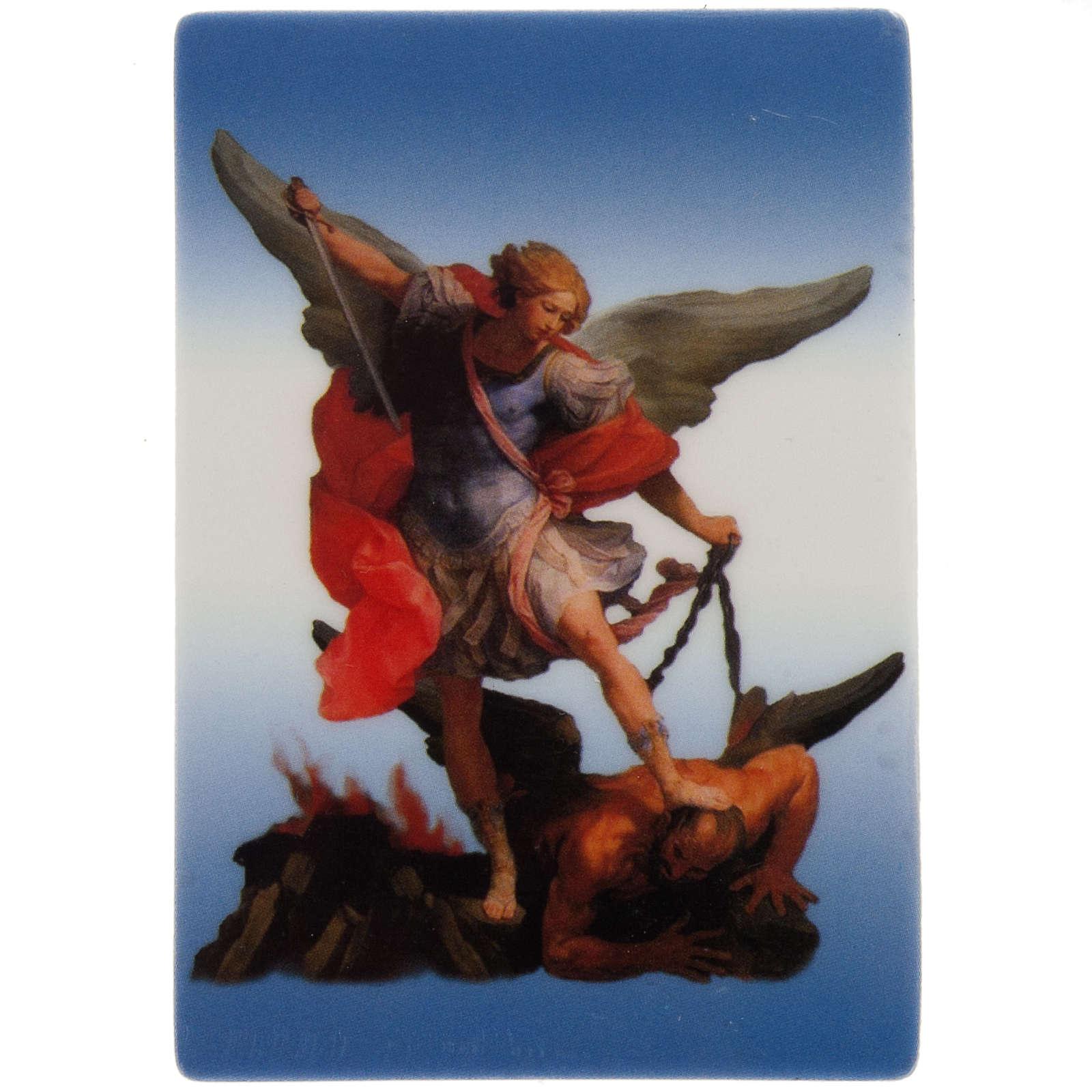 Magnet with Saint Michael 3