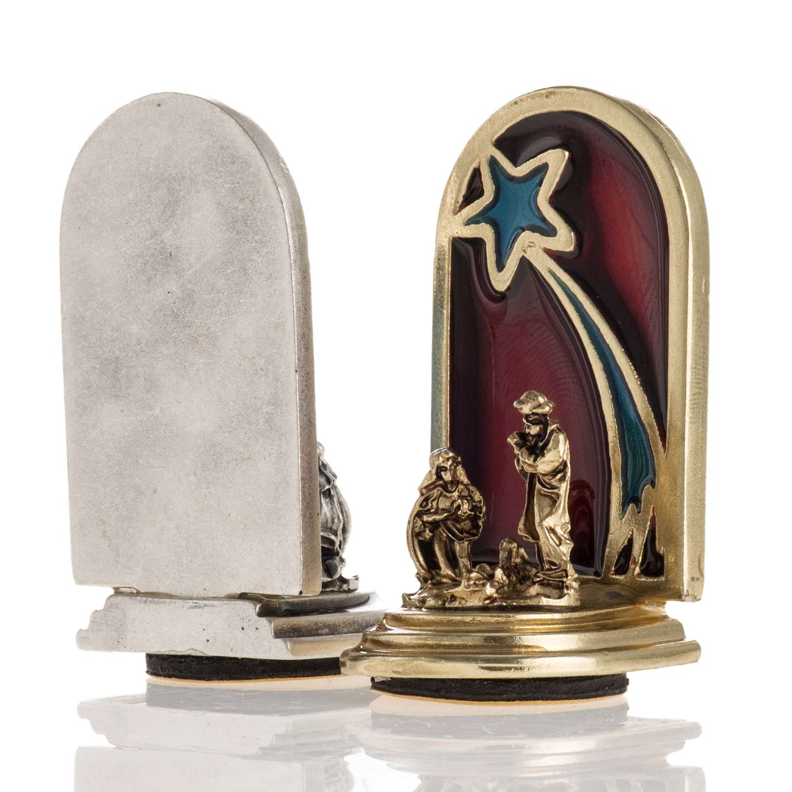 Nativity magnet with star 3