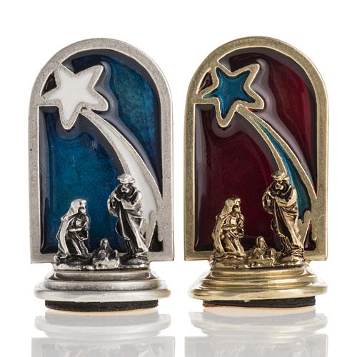 Nativity magnet with star 1