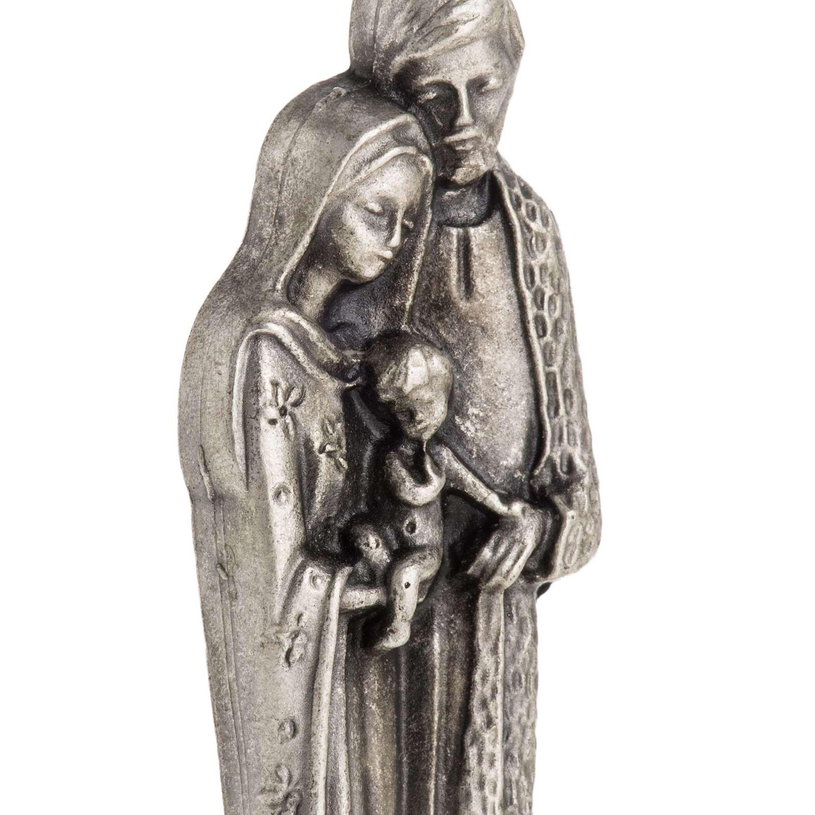 Imán metalizados de la Sagrada Familia 7cm 3