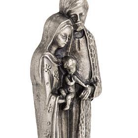 Imán metalizados de la Sagrada Familia 7cm s3