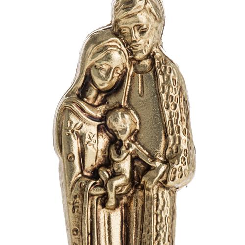 Imán metalizados de la Sagrada Familia 7cm 2