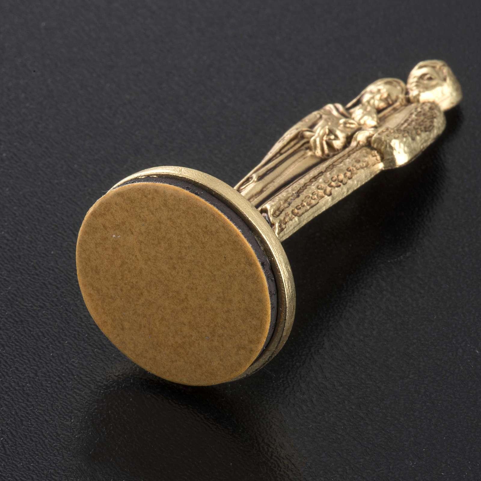 Holy Family magnet h 7 cm 3