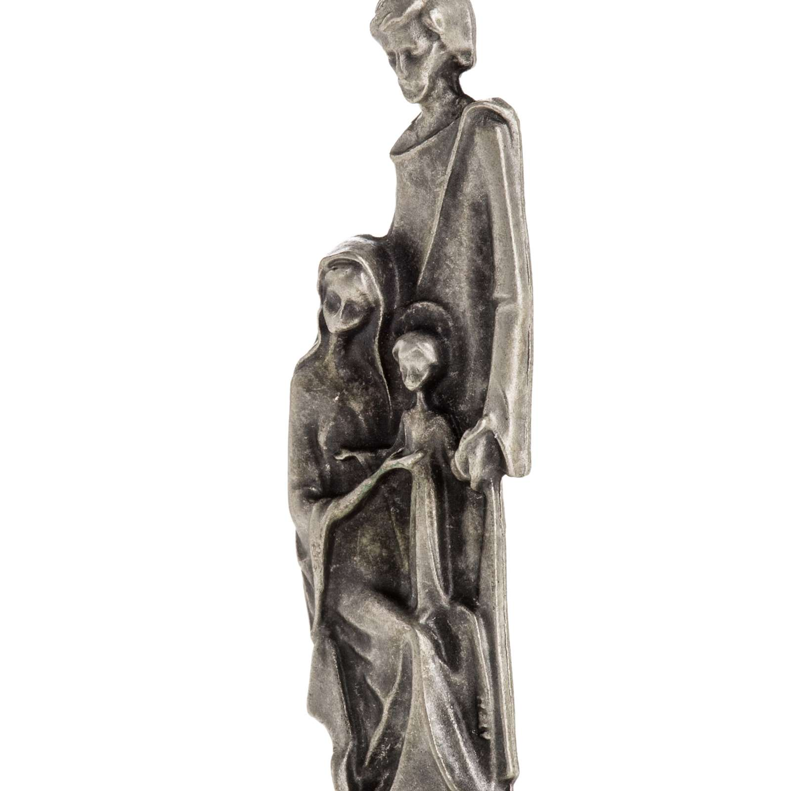 Imán de la Sagrada Familia dos colores 6cm 3
